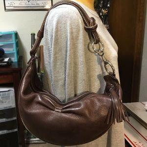 Gorgeous brown vintage Fossil shoulder bag